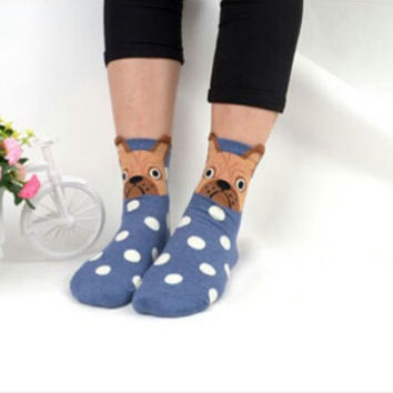 Animal face socks,animal socks, warm socks,funny socks