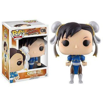 Funko POP Games: Street Fighter - Chun Li Vinyl Figure