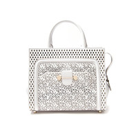 Daphne Laser Cut Shoulder Bag
