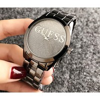 GUESS 2018 new men and women couple watch quartz watch F-H-JH 9