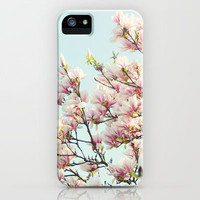 magnolias iPhone Case by Sylvia Cook Photography