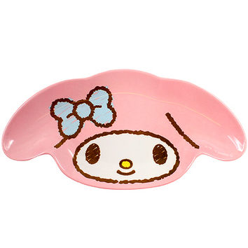 Buy Sanrio My Melody Face Die-Cut Small Plate 18cm at ARTBOX