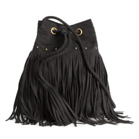 Bucket Bag with Fringe - from H&M