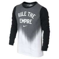"Nike ""Rule The Empire"" Boys' T-Shirt Size Small (White)"