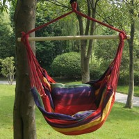 Bohemian Boho Striped Hammock Hanging Chair