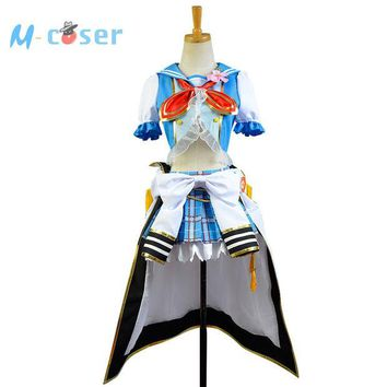 DCCKHY9 LoveLive Sailor Costume Love Live Nico Yazawa Navy Uniform Girls Marine Anime Halloween Cosplay Costumes For Women