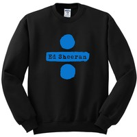 "Ed Sheeran ""Ed Sheeran & Divide Logos"" Crewneck Sweatshirt"