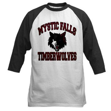 Mystic Falls Timberwolves Baseball Jersey on CafePress.com