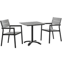 Maine 3 Piece Outdoor Patio Dining Set