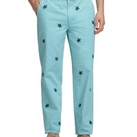 Men's Clark Fit Turtle Embroidered Sea Pants