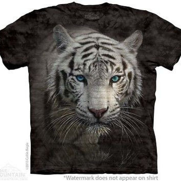 White Tiger Reflection T-Shirt