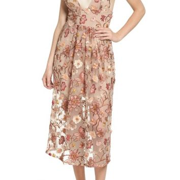 For Love & Lemons Botanic Midi Dress | Nordstrom
