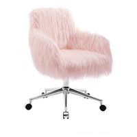 Fiona Chrome Base Office Chair
