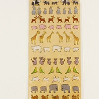 Animal Friends Sticker Sheet