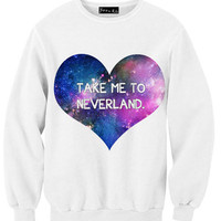 Take Me To Neverland Sweatshirt | Yotta Kilo