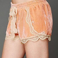 Intimately Free People Clothing Boutique > Silky Velvet Lounge Short