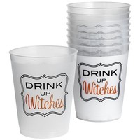 Drink Up Witches Plastic Cups Set$9.95