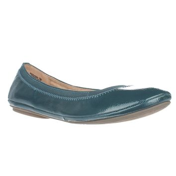Bandolino Edition Ballet Flats, Blue Green, 6.5 US