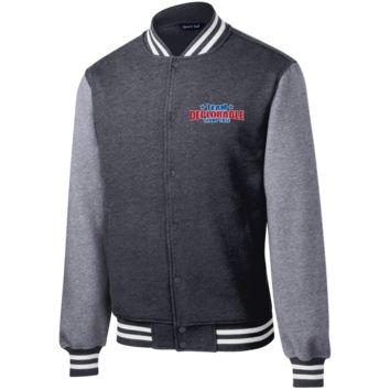 Team Deplorables: Trump 2016 Fleece Letterman Jacket