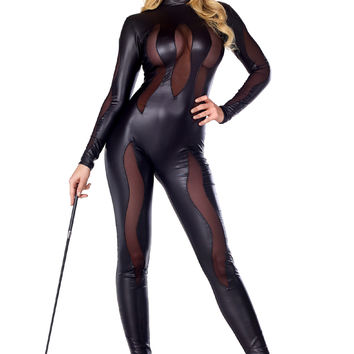 Sexy Luscious Lynx Animal Costume
