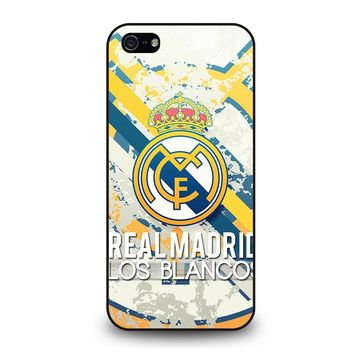 REAL MADRID LOS BLANCOS iPhone 5 / 5S / SE Case Cover