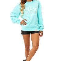 Diamond Supply Co Sweatshirt Paris Crewneck in Diamond Blue