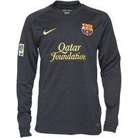 Barcelona Long Sleeve Jersey 2011 2012 (Adult L only)