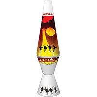 Beatles Help Groovy Retro Lava Lamp - Artwork From Fab Four's Album Cover