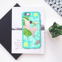 Hello Blossoms Aqua Special Edition iPhone 6s case by Lisa Argyropoulos | Casetify