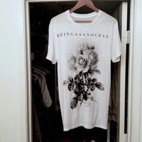 BEINGASANOCEAN — The White Rose Tee