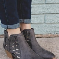 Cutting Edge Booties - Grey