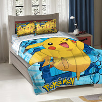 Walmart: Pokemon Big Pikachu Twin Bedding Comforter Set