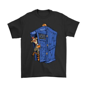 KUYOU Tigger Winnie The Pooh And Doctor Who Mashup Shirts
