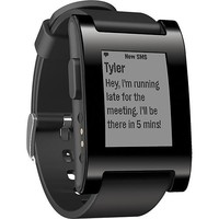 Pebble - Smart Watch for Select Apple® and Android Devices - Black