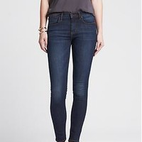 Medium Wash Skinny Ankle Jean