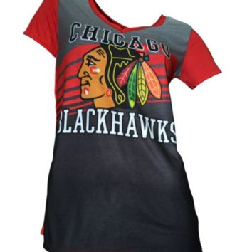 Women's Chicago Blackhawks Concepts Sport Dynamic Short Sleeve Top