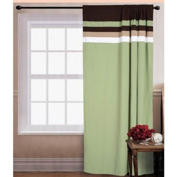"55x90"" Palermo Window Curtain Sage"