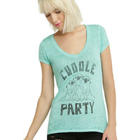 Disney Finding Dory Cuddle Party Otters Girls T-Shirt
