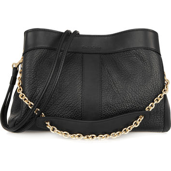 See by Chloé - Beki textured-leather shoulder bag