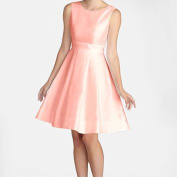 Women's Donna Morgan Shantung Fit & Flare Dress