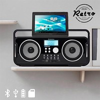 AudioSonic RD1556 Rechargeable Bluetooth Retro Radio