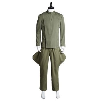 Star Wars Cosplay Imperial Officer Olive Green Original 100% Cosplay Costume Top Pant Uniform Full Sets