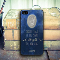Disney Peter Pan Quotes cover case for iphone case, samsung and ipod case, handmade phone case