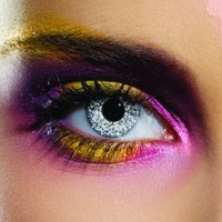 Colour Vision Glimmer Silver Coloured Contacts