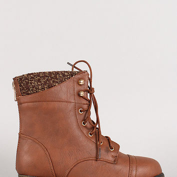 Top Moda Tan Boot
