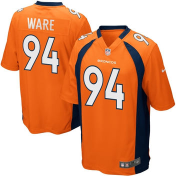 DeMarcus Ware Denver Broncos Nike Team Color Game Jersey - Orange