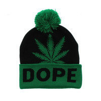+ Beanie Dope In Green