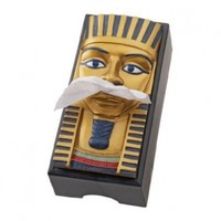 Design Toscano King Tut Egyptian Tissue Box Cover