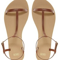 ASOS FACTOR Flat Sandals at asos.com