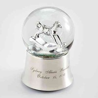 Rocking Horse Snow Globe from RedEnvelope.com